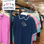 Tennis- en golf-kleding  30% KORTING !